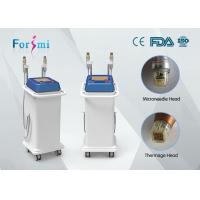 Wholesale factory price 2 handles thermage superfacial SRF and MRF fractional rf microneedle machine for acne scarring treating from china suppliers
