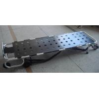 Quality Corpse Trolley Mortuary Equipment 1000lb Multi Level One Man Control Mortuary Cot for sale