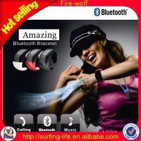 Wholesale most popular bluetooth bracelet watch memo reminder with factory price from china suppliers