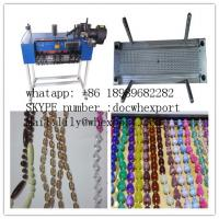 roller blinds zebra curtains rosary yarn thread string round plastic ball chain moulds mold and making machine