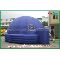 Wholesale Blue 7m DIA Inflatable Planetarium Dome Durable Architecture Projection Tent from china suppliers