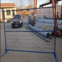 Wholesale Powder coated temporary fence stands concrete for Canada from china suppliers