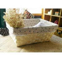 Wholesale wood basket storage box sundries basket from china suppliers
