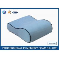 Wholesale Side Sleeper Small Memory Foam Contour Travel Pillow , Antibacterial Memory Foam Pillow from china suppliers