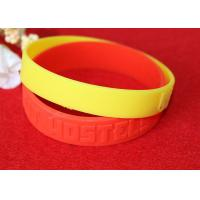 Wholesale Minimalistic Pattern Custom Silicone Rubber Wristbands Without Deformation from china suppliers
