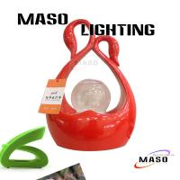 Wholesale MASO New LED Lighting Source Water Rotating Motor inside Wedding Table Lamp MS-T2001L from china suppliers