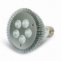 Wholesale Dimmable LED PAR30 Light with 9W High Power, 5 Pieces Cree LED and E27/E26/GU10 Base from china suppliers