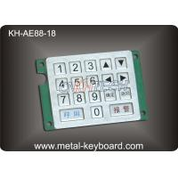 Quality Customized Keyboard Numeric Keypad with Rugged Stainless Steel Material for sale