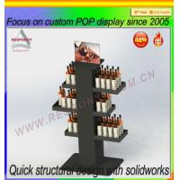 Buy cheap Custom wine/beer display rack from wholesalers