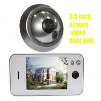 Wholesale Simple operation 3.5 inch color dispaly muslim doorbell viewer with AA battery from china suppliers