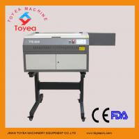 Wholesale mini laser engraving machine with support stand TYE-3040 from china suppliers