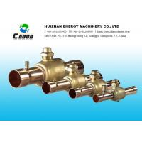 Wholesale Brass Air Conditioning  Valve Refrigeration Ball Valve For HCFC And HFC Refrigerants from china suppliers