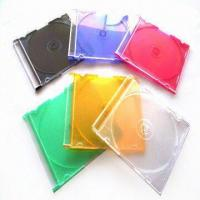 5.2mm Jewel Cases with Clear Lid or Black, Suitable for Storing Single