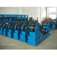 Wholesale Adjustable 20T Self-aligned Welding Rotator Pipe Welding Rollers in Blue from china suppliers