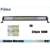 Wholesale Double Row 5D 32 Inch CREE LED Car Light Bar For 4x4 Jeep 180W Super Bright from china suppliers