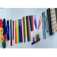 Wholesale Durable Various Shape Wire Cable Ties , 1 / 2 Wide Custom Velcro Cable Ties from china suppliers