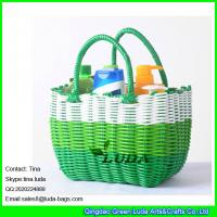 Wholesale LUDA elegant pp women beach bag small waterproof basket for washroom from china suppliers