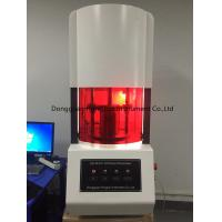 Buy cheap Computer Control Rubber Testing No Rotor Rheometer / Rubber Testing Rheometer from wholesalers
