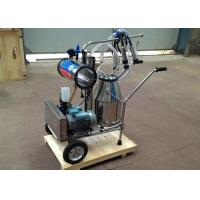 Wholesale 220v , 40-60Hz Electric Motor Equipped Cow Milking Machine , Single Bucket Milker from china suppliers