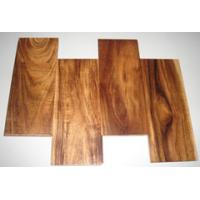 Buy cheap solid Acacia wood flooring(small leaf) from wholesalers
