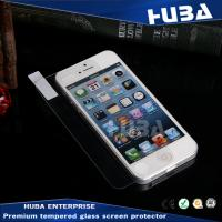 Wholesale 0.15mm Ultra Thickness Tempered Glass Screen Protector For Iphone5s / 5c / 5 from china suppliers