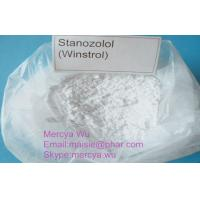 Wholesale Healthy Winstrol / Stromba Raw Steroid Powders CAS 10418-03-8 , Anabolic Steroids Stanozol from china suppliers