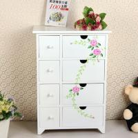 Quality Painting Style Bedroom Corner Cabinet Wooden Drawers Bathroom Furniture for sale
