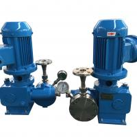 Wholesale Automatic Chemical Resistant Double Diaphragm Metering Pump For Chemical Plant from china suppliers