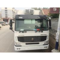 Wholesale Refrigerated Delivery Truck 8cm Polyurethane Foam , Sinotruk Howo Truck from china suppliers