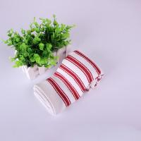 Wholesale Home Textile  Azo - Free Strip Dish Towels 40*40cm , Red And White Color from china suppliers