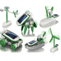 Wholesale Robot Building Kits Solar Powered Robot  6 In 1 For Children Education from china suppliers