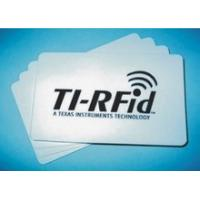 Wholesale TI LF cards / TI chip 134.2 KHz thick cards from china suppliers