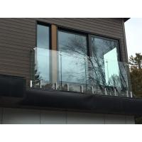 Wholesale High Quality Frameless Tempered Glass Railing / Balustrade with Spigot from china suppliers