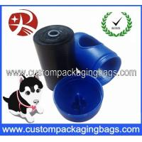 Wholesale Black Pet Waste Dog Poop Bags Oxo-biodegradable With Blue Dispenser from china suppliers