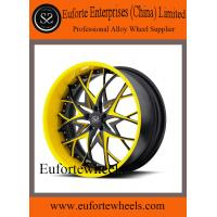 Wholesale 19'' / 20'' / 21'' / 22'' heavy duty 2 piece forged wheels for Lamborghini / Porche / Ferrari from china suppliers