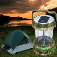 Wholesale Camouflage color Big Power camping lantern lamp Led Solar Lantern  (DL-SC04) from china suppliers