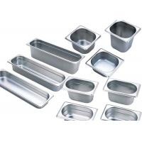 Wholesale 201 Stainless Steel Kitchen Equipment , GN Pan Stainless Steel Gastronorm Pan from china suppliers