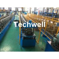 Wholesale Forming Material PPGI , Aluminum Gutter Roll Forming Machine With Forming Speed 0-15m/min from china suppliers