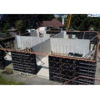 Wholesale Vertical Wall Formwork System Composed With H20 Beams , Steel Walings , Plywood from china suppliers