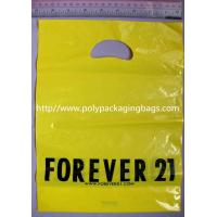 Wholesale Pink Printed Garment Packaging Poly Bags Customizable Shopping Bags from china suppliers