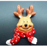 Wholesale Winter elk Christmas tree refrigerator magnet,christmas decoration ornaments from china suppliers