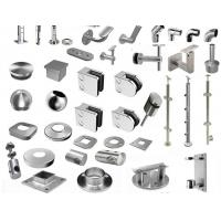 Wholesale SS handrail / Staircase fittings TP304( pipe carrier, bracket, base cover, end cap, elbow, flexible connector, top ) from china suppliers
