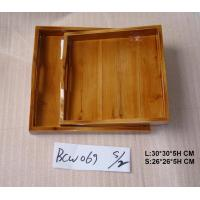 Lacquer wooden tray