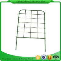 Wholesale Green Color Plastic Coated Metal Freestanding Garden Flower Trellis For Climbing Plants from china suppliers