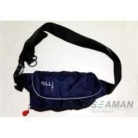 Wholesale Marine Inflatable Life Jackets 150N Auto / Manual Start Navy Blue Inflatable Waist Belt from china suppliers
