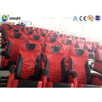 Wholesale Electric Motion 4DM Cinema System Movie Theater System With Black Red Seats from china suppliers