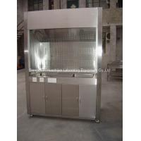 Wholesale Stainless Steel Lab Fume Hood Cupboards Low Turbulence PVC Track 30W Lighting from china suppliers
