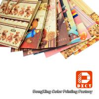 Wholesale Recycled Brown Kraft Paper Gift Bags Cute Cartoon Pattern With Cotton String from china suppliers