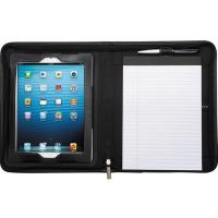 Wholesale Leeds Flip Genuine Leather Black Portfolio / Padfolio For IPad2/3/4/Air - New from china suppliers
