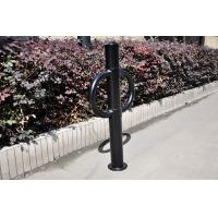 Quality Custom Blue Iron Metal Display Stands Bicycle Rack In Public for sale